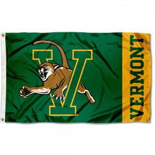 Load image into Gallery viewer, Vermont Catamounts 90*150CM Digital Printing