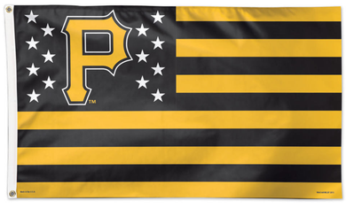 Pittsburgh Pirates Stars and Stripe Banner flag 90x150cm