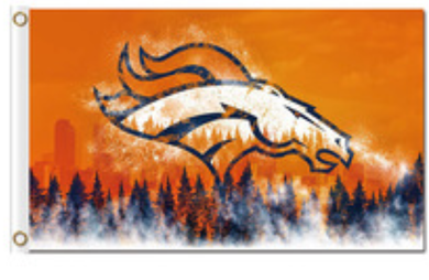 Denver Broncos American Football Banner Flag 3x5ft