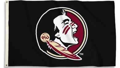 Florida State Seminoles Black Banner Flag 3ft*5ft