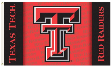 Texas Tech Red Raiders Sports Foot Banner Flag 3ft*5ft