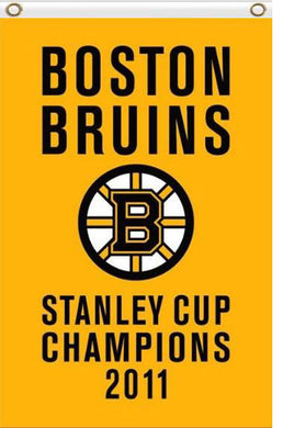 Boston Bruins stanley cup champions Flag 3x5 FT