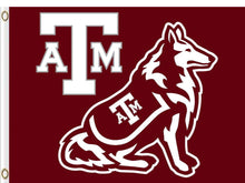 Load image into Gallery viewer, Texas A&M Aggies  Flag 3*5ft Club