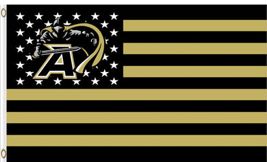 Army Black Knights Logo metal grommets Banner Flag 3*5ft