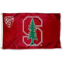 Load image into Gallery viewer, Stanford Cardinal sports team flag