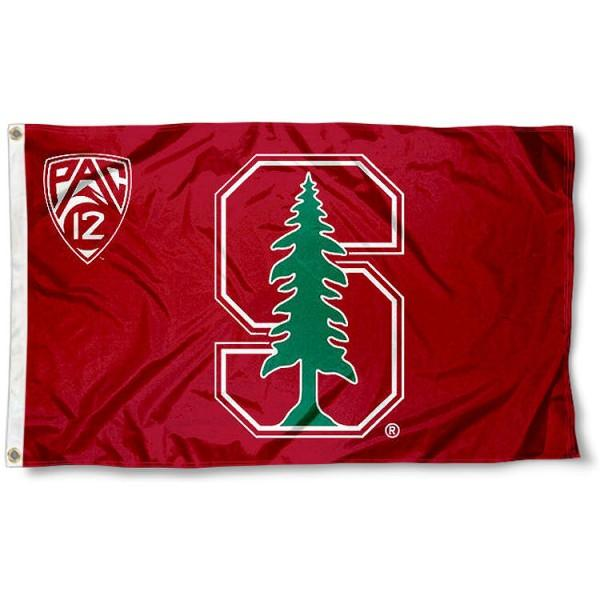 Stanford Cardinal sports team flag