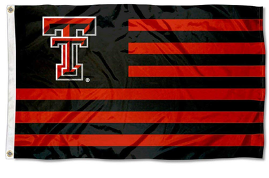 Texas Tech Red Raiders Alumni Nation Stripes Banner Flag 3ft*5ft