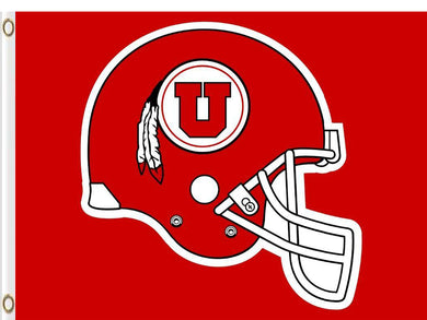 Utah Utes sports team flag Digital Printing