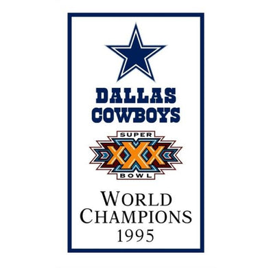 Dallas Cowboys World Champions 1995 FLAG 90x150cm