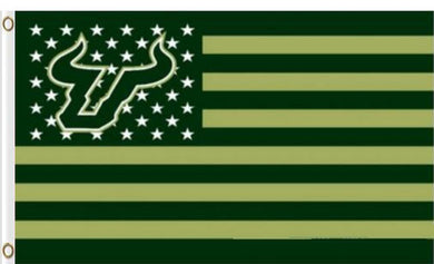 South Florida Bulls Star Nation Banner Flag 3*5ft