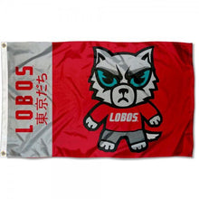 Load image into Gallery viewer, New Mexico Lobos  Flag 3ftx5ft