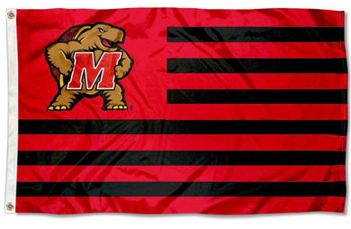 Maryland Terrapins Nation Stripes Banner Sports Flag 3*5ft