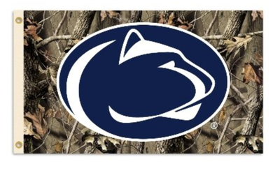 Penn State Nittany Lion Realtree Camo Banner Flag 3*5ft