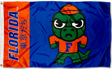 Florida Gators Kawaii Tokyodachi Mascot Banner Flag 3*5ft