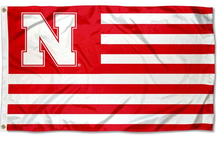 Load image into Gallery viewer, Nebraska Cornhuskers Stars and Stripes Nation Flag 90*150 CM