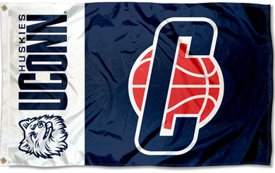 Connecticut Huskies Basketball Banner Flag 3*5ft