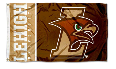 Lehigh Mountain Hawks University Large Flag 3*5ft