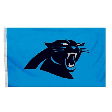 Carolina Panthers Flag with Grommetts 3ftx5ft