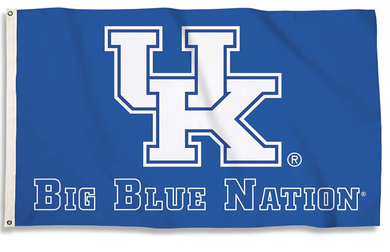 Kentucky Wildcats Big Blue Nation Flag 3*5ft