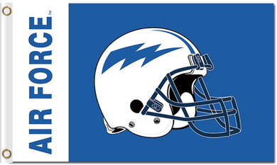 Air Force Falcons Helmet Banner Flag 3x5ft