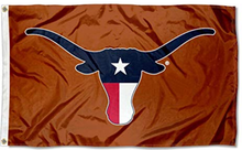 Load image into Gallery viewer, Texas Longhorns US Banner Flag 3ftx5FT