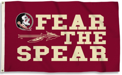 Florida State Seminoles Fear The Spear Flag 3ft*5ft