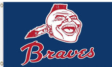 Load image into Gallery viewer, Atlanta Braves Baseball Club flags 3ftx5ft