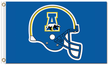 Load image into Gallery viewer, Alaska Nanooks Seawolves Logo Hand Flag 90*150 CM