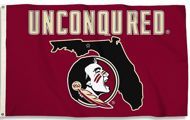 Florida State Seminoles Uniconquered Banner Flag 3ft*5ft