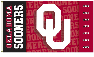 Oklahoma Sooners Logo Design Banner Flags 3*5ft