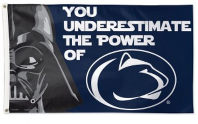 Penn State Nittany Lion Star Wars Banner Flag 3ft*5ft