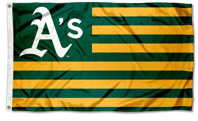 Oakland Athletics Nation flag 3ftx5ft