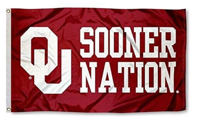 Oklahoma Sooners Sooner Nation Sports Flags 3*5ft