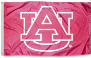 Auburn Tigers Pink Banner Flag 3*5ft