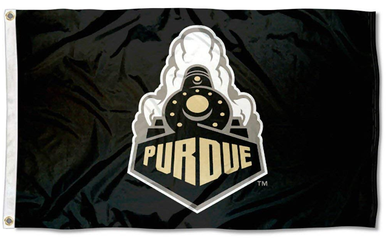 Purdue Boilermakers Black Banner Flag 3*5ft