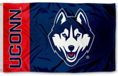 University of Connecticut Huskies Banner Flag 3*5ft