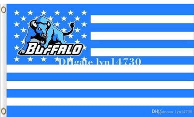 Buffalo Bulls Hand Flag 3*5ft
