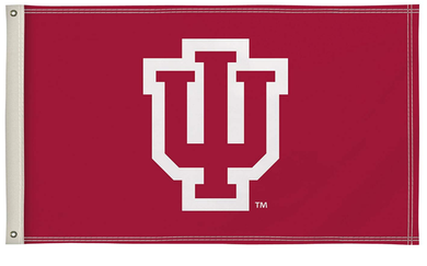 Indiana Hoosiers Alumni Logo Flags Banners 3*5ft