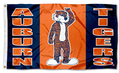 Auburn Tigers University Aubie Banner Flag 3*5ft
