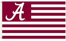 Load image into Gallery viewer, Alabama Crimson Banner Flag 3X5FT
