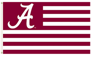 Alabama Crimson Banner Flag 3X5FT