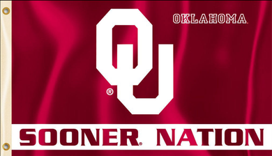 Oklahoma Sooners Sooner Nation Banner Flags 3*5ft