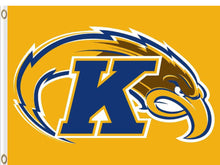 Load image into Gallery viewer, Kent State Golden Flashes Flag 3*5ft Club