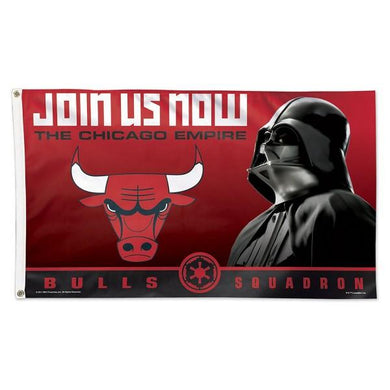 Chicago Bulls Star Wars Darth Vader Flag