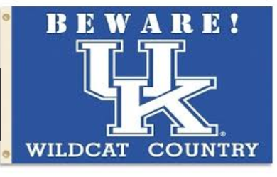 Kentucky Wildcats Beware Country Banner Flag 3*5ft