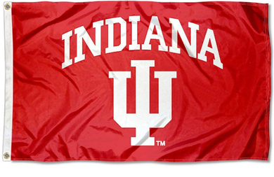 Indiana Hoosiers University Large Banner Flag 3*5ft