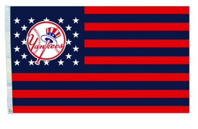 New York Yankees Stripes Nation US Banner flags 3x5ft