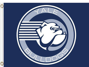 Yale Bulldogs 100D Polyester Digital Printing