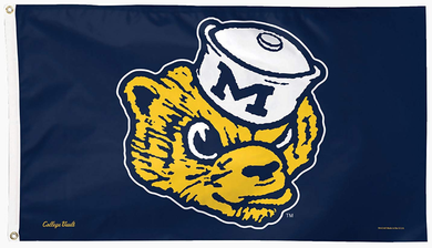 Michigan Wolverines College Vault Flag 90*150 CM