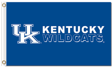 Kentucky Wildcats polyesters Banner Flag 3*5ft